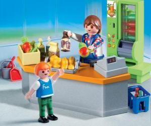 Puzle Loja de Playmobil