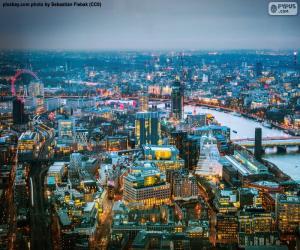 Puzle Londres, Inglaterra