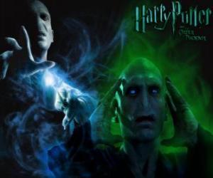 Puzle Lord Voldemort é o principal inimigo de Harry Potter