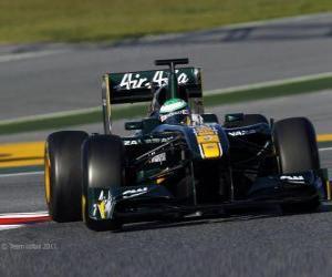 Puzle Lotus T128 - 2011 -