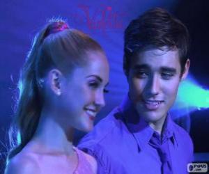 Puzle Ludmila e Leon cantando