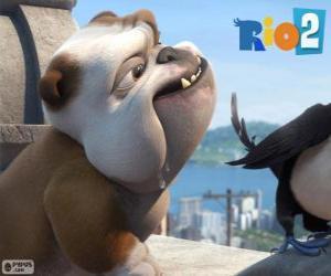 Puzle Luiz no filme Rio 2