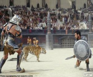 Puzle Luta de gladiadores