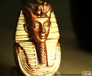 Puzle Máscara do Faraó Tutankhamon