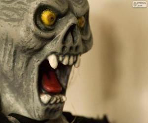 Puzle Máscara do Monstro para Halloween