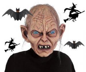 Puzle Máscara para o Dia das Bruxas
