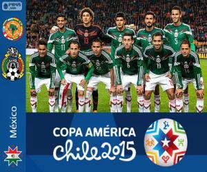 Puzle México Copa América 2015