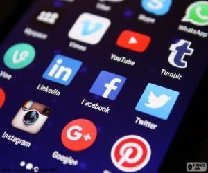 Puzle Mídias sociais