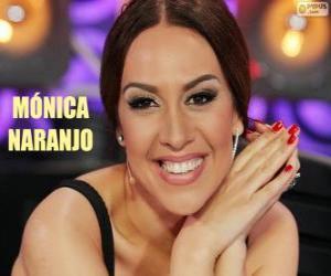 Puzle Mónica Naranjo, cantora espanhola