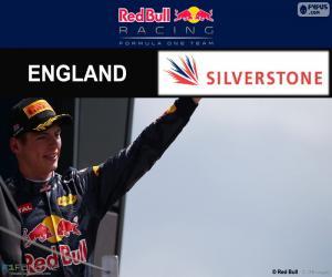 Puzle M. Verstappen GP Grã-Bretanha 2016