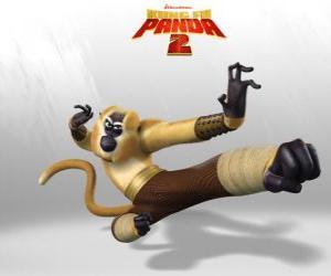 Puzle Macaco é acrobático, brincalhão, divertido, imprevisível, rápido e energético.