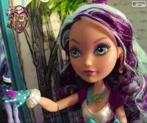 Puzle Madeline Hatter, estudante de Ever After High