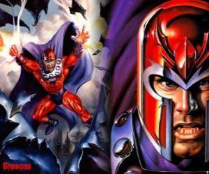 Puzle Magneto, o principal antagonista dos X-Men, o supervilão com os seus mutante tem o desejo de dominar o mundo