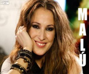 Puzle Malú, cantora e compositora espanhola