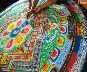 Puzle Mandala, último retoque