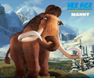 Puzle Manfred, Manny, o mamute