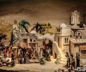 Puzle Manjedoura de Jesus nascimento