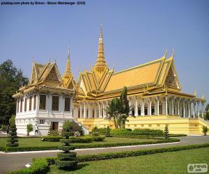 Puzle Mansão Throne, Camboja