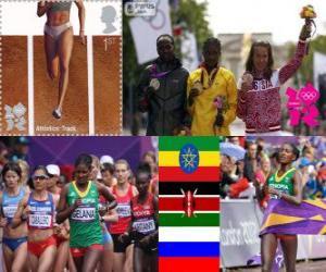 Puzle Maratona feminino Londres 2012