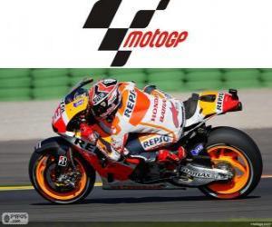 Puzle Marc Márquez, campeão do mundo de 2013 de MotoGP