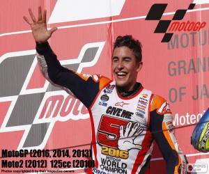 Puzle Marc Márquez, MotoGP 2016