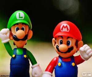Puzle Mario e Luigi