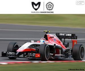 Puzle Marussia Manor 2015