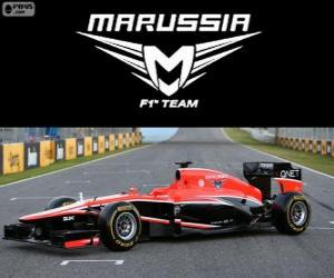 Puzle Marussia MR02 - 2013-