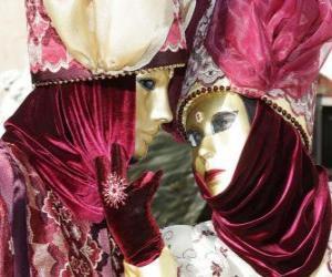Puzle Máscaras clássicas