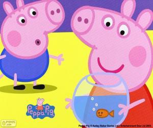 Puzle Mascote de Peppa Pig