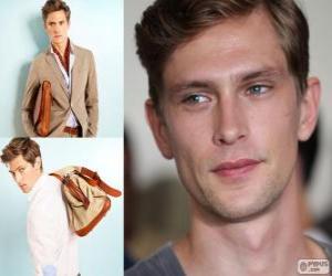 Puzle Mathias Lauridsen é um modelo dinamarquês