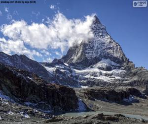 Puzle Matterhorn, Suíça e Itália