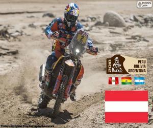 Puzle Matthias Walkner, Dakar 2018