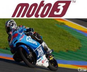 Puzle Maverick Viñales, campeão do mundo de 2013 de Moto3