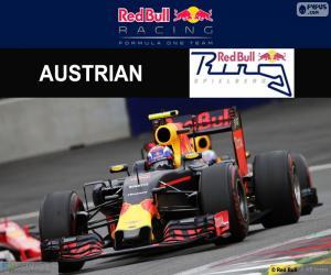 Puzle Max Verstappen, G.P Áustria 2016
