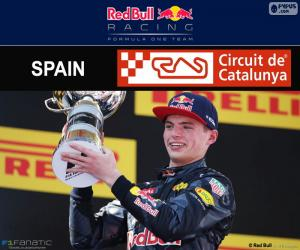 Puzle Max Verstappen, G.P Espanha 2016