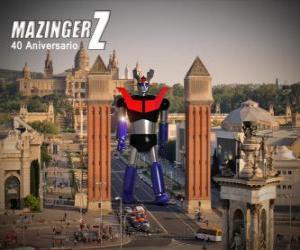 Puzle Mazinger Z 40 anos (1972-2012)