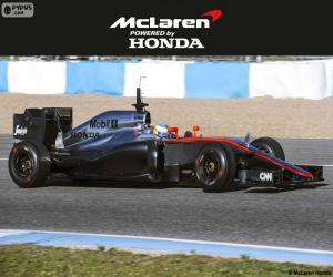 Puzle McLaren Honda 2015