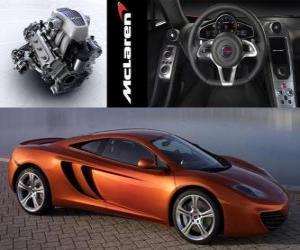 Puzle McLaren MP4-12C