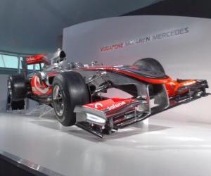 Puzle McLaren MP4-25