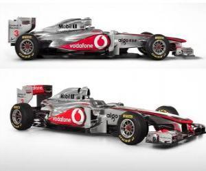 Puzle McLaren MP4-26 - 2011 -