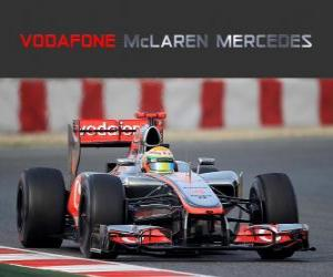 Puzle McLaren MP4-27 - 2012 -