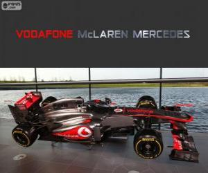 Puzle McLaren MP4-28 - 2013 -