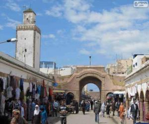 Puzle Medina de Essaouira, Marrocos