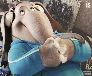 Puzle Meena o elefante