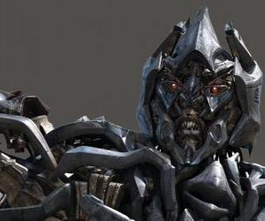 Puzle Megatron é o líder dos Decepticons