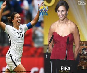 Puzle Melhor jogador FIFA, 2015