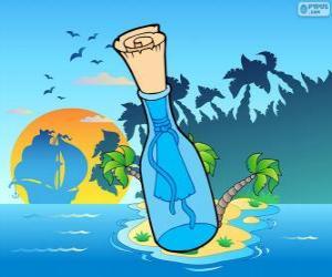 Puzle Mensagem numa garrafa