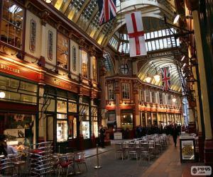 Puzle Mercado de Leadenhall, Londres