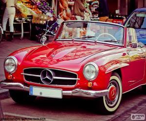 Puzle Mercedes-Benz 190SL (1955-1963)